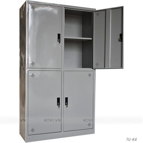 Tủ sắt văn phòng 4 cánh TU-K4
