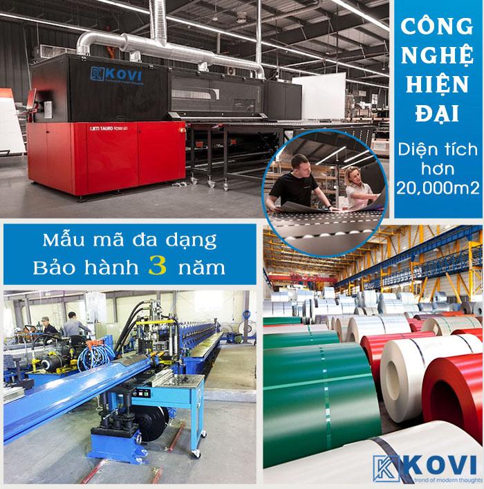Hình ảnh nhà máy KOVI