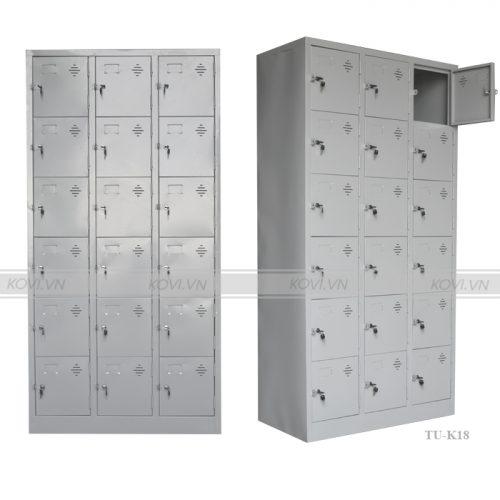 Tủ Locker 18 cánh TU-K18-001