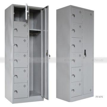 Tủ Locker 7 cánh lệch TU-K7L