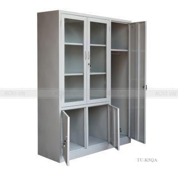 Tủ sắt văn phòng 5 cánh TU-K5QA-001