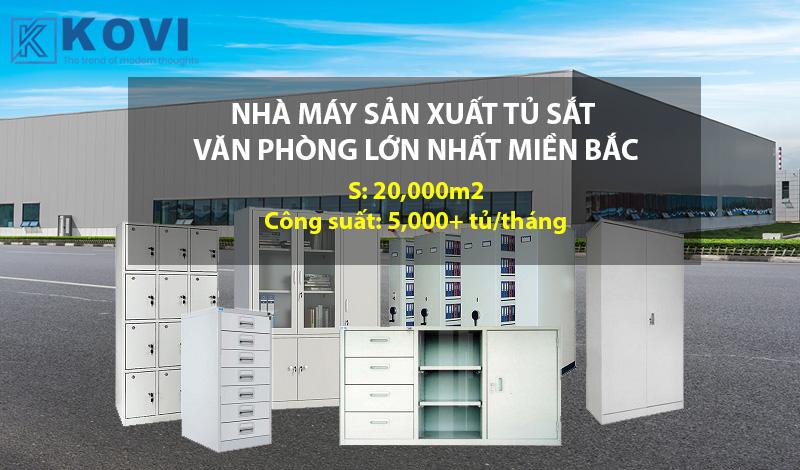 Kovi - Xưởng sản xuất, bán buôn tủ sắt văn phòng, tủ locker số 1